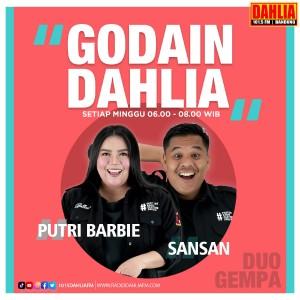 14. Godain Dahlia (Goyang Dangdut Minggu) : Minggu 06.00 - 08.00 WIB
